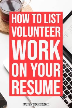 How do you list volunteer work on a resume? Here's how to effectively format the volunteer experience section of your resume with examples for different situations. Resume Layout, Resume Format, Resume Design, Design Design, Graphic Design, Resume Writing Tips, Resume Tips, Cover Letter Tips, Cover Letters