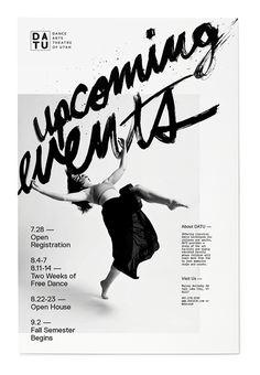 visualgraphc:  Sam Wood: Dance Poster