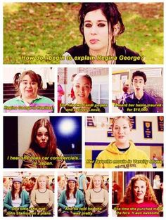 Mean Girls - explaining regina george Mean Girl Quotes, Funny Girl Quotes, Girl Memes, Funny Quotes For Teens, Movie Quotes, Clannad After Story, Christopher Robin, Scott Pilgrim, Icarly