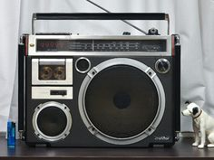JVC Victor RC-550 1979 Vintage Boombox
