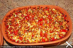 Gemüsereis aus dem Römertopf