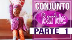Saco En Crochet Para Barbie - Conjunto para Barbie Parte 1