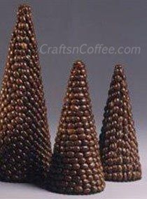Yummy coffee bean topiaries over on Crafts 'n Coffee (of course!) CraftsnCoffee.com.