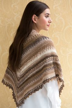 Ravelry: Simple Knit Shawl pattern by Teresa Chorzepa
