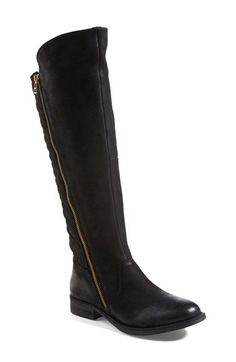 Steve Madden 'Northsde' Quilt Back Knee High Boot (Women) available at #Nordstrom
