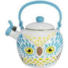 Whistling Animal Kettle - Owl