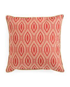 24x24 Oversized Pattern Pillow