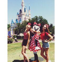Kelli) Me and my bestie Peyton in Disney!