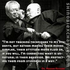 Soke Hatsumi Wisdom Quotes, Life Quotes, Martial Arts Quotes, Art Of Fighting, Ninja Art, Martial Arts Techniques, Teaching Techniques, Warrior Quotes, Martial Artists