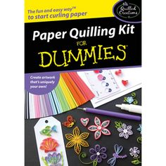 Paper quilling book