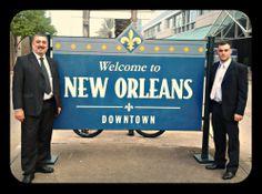 Primer día New Orleans (USA) en el marco del 117th AAO Annual Meeting con el Dr. Pablo Galetto