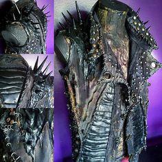 The Pariah SceneSick Biker Metal Gothic Vampire Studded Post