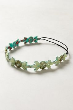 Flower Crown Headband - anthropologie.com