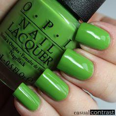 Image of OPI I'm Sooo Swamped nail polish