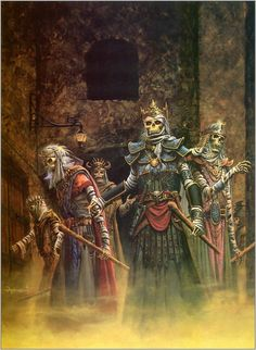 Swords of Deceit (Advanced Dungeons and Dragons/Lankhmar module x UNFRAMED] Dungeons And Dragons Art, Advanced Dungeons And Dragons, High Fantasy, Fantasy Rpg, Fantasy Paintings, Fantasy Artwork, Vampires, Dnd Art, Sword And Sorcery