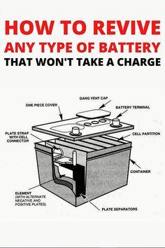 Car Audio Battery, Jump A Car Battery, Ryobi Battery, Solar Battery, Battery Hacks, Battery Tools, Dual Battery Setup, Cordless Drill Batteries, Battery Terminal
