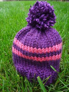 Preschooler Rugby Hat     By Jennifer Dickerson       The Preschooler Rugby Hat is a super warm and quickly knit hat for your presch...