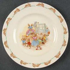 Royal Doulton Bunnykins (Albion Shape) Dessert/Pie Plate, Fine China Dinnerware by Royal Doulton. $21.99. Royal Doulton - Royal Doulton Bunnykins (Albion Shape) Dessert/Pie Plate - Albion Shape, Rabbit Scenes