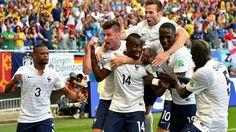 Suiza 2 - 5 Francia