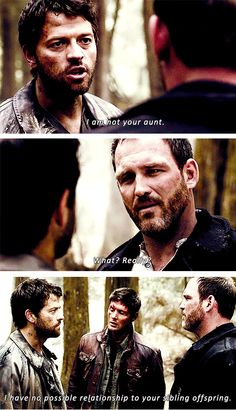 [SET OF GIFS] 8.07 A Little Slice of Kevin. Loved these three together. #S8 #SPNS8 #Supernatural #Purgatory
