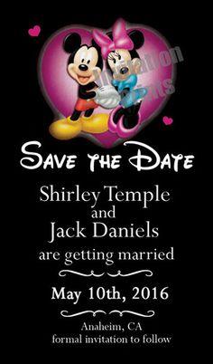 http://www.ebay.co.uk/itm/Save-Date-Wedding-Invitation-Magnet-Disney-Mickey-Minnie-Mouse-/360491980708