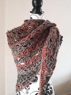 woolen shawl by KnotSoKnaffKnits on Etsy Star Blanket, Acrylic Wool, Drops Design, Crochet Shawl, Shawls, Pattern Design, Etsy, Fashion, Moda