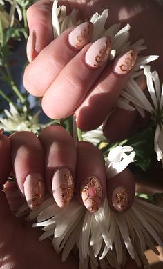 My new work:) Сэйлор Мун #manicure, #gelnails, #naildesign, #nailart, #foil, #liquidstones