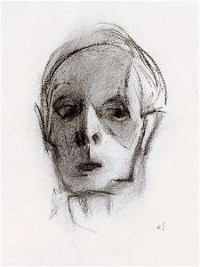 Helene Schjerfbeck, 'Self Portrait', 1944