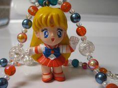 sailor venus beaded necklace. $27.00