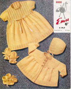 50's baby clothes