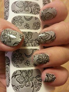 Long nails decorated with fantastic designs Sexy Nail Art, Lace Nail Art, Lace Nails, Sexy Nails, Nail Art Diy, Cute Nail Art Designs, Nail Polish Designs, Beautiful Nail Designs, Short French Nails