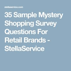 Customer Survey Checklist  Customer Survey Questions  Salon