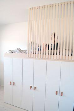 Low Budget Home Decoration Ideas Room Design Bedroom, Small Room Bedroom, Kids Room Design, Girls Bedroom, Loft Beds For Small Rooms, Cool Kids Rooms, Loft Bed Plans, Big Girl Rooms, Diy Bed