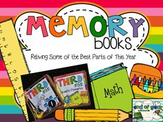 2nd Grade Shenanigans: Memory Books included in Ultimate End of Year Writing Bundle.