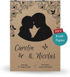 Hochzeitseinladungen Wild Romantisch Einladungskarte Mit