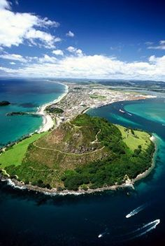 Mount Manganui, North Island, New Zealand