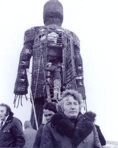 The Wicker Man bts