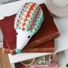 амигуруми ежик крючком схема вязаной игрушки