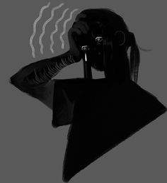 went through requests cause i did not knew what else to draw. Dark Art Illustrations, Illustration Art, Art Sketches, Art Drawings, Dessin Old School, Arte Peculiar, Vent Art, Cartoon Kunst, Arte Obscura