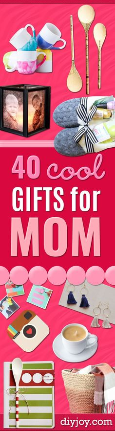 Cool Gifts to Make For Mom - DIY Gift Ideas and Christmas Presents for Your Moth. Cool Gifts to Make For Mom - DIY Gift Ideas and Christmas Presents for Your Mother, Mother-In-Law, Grandma, Stepmom - Cr. Birthday Presents For Grandma, Christmas Presents For Her, Diy Gifts For Mothers, Christmas Gifts For Grandma, Best Gifts For Mom, Diy Christmas Gifts, Holiday Crafts, Cheap Holiday, Christmas Holidays