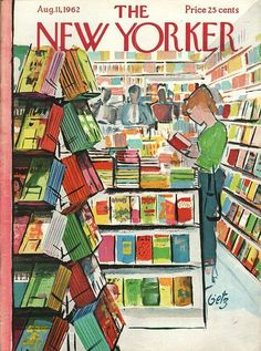 Cover by : Arthur Getz | The New Yorker August 11 1962