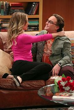 When did penny and leonard first start hookup