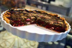 Moje cukrářství - Quiche s červenou řepou a kozím sýrem Quiche, Steak, Food, Essen, Quiches, Steaks, Meals, Yemek, Eten