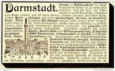 Original-Werbung/Anzeige 1898 - DARMSTADT  - ca. 90 x 55 mm
