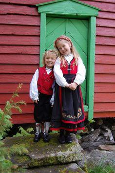 Norwegian children.