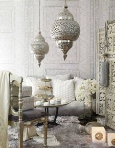 Global Decor inspiration: bohemian glamour in neutrals — The Decorista
