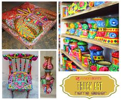 Already in love with Truck Art? Now get the Truck Art vibes at your home with these DIY ideas. ‪#‎TruckArt‬ ‪#‎SS15‬