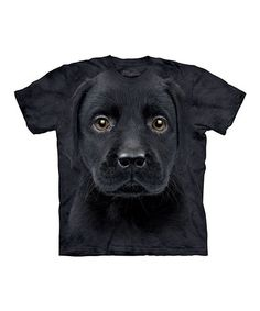 Take a look at this Black Lab Puppy Tee - Toddler & Kids by The Mountain on #zulily today!