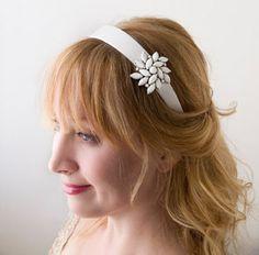 cloth covered headbands | Bridal Headbands