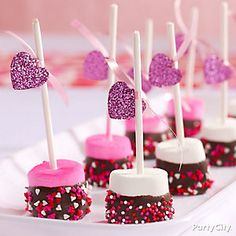 Make cute marshmallow morsels